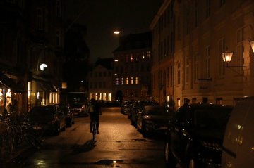 Copenhagen Streets By Night - 2019