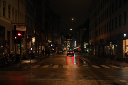 Copenhagen Streets By Night - 2019 - 2