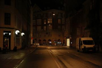 Copenhagen Streets By Night - 2019 - 4