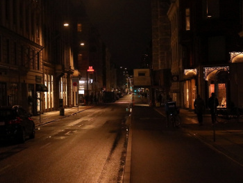Copenhagen Streets By Night - 2019 - 6