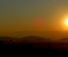 Manzara-Gün doğumu