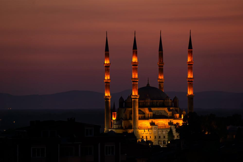 Günbatarken Selimiye.