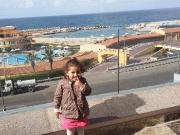 Egypt  - Alexandria - Granddaughter