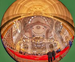 Mihraptan Bakışla Fatih Camii - İstanbul