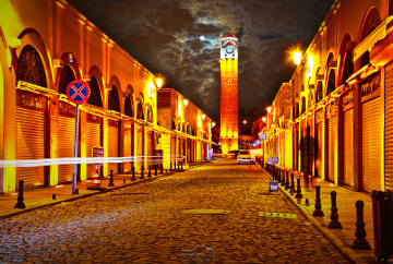 The Great Clock Tower - Adana city.