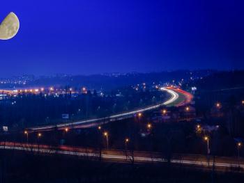My luminous night