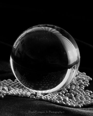 Black and White Crystal