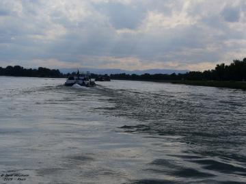 on the Rhine