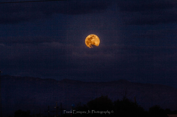 April 2020 Pink Super Full Moon From Tucson AZ