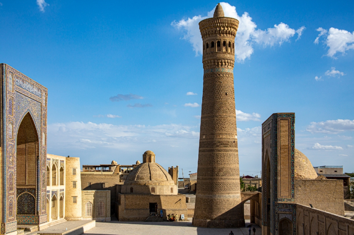 Kalyan minaresi, Buhara, Özbekistan