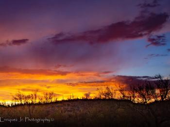 Pre-Summer Monsoon Arizona Sunset