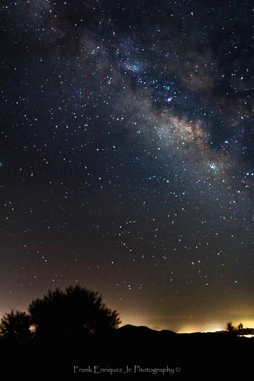 The Milky Way From Arizona Skies