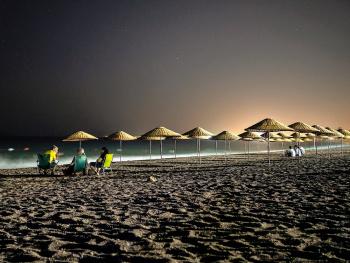 Gece Sahil..(Gümüldür plaj)