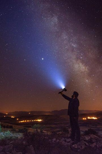Yüksekte yıldızlar bir başka güzel