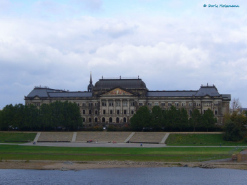 Brühl's Terrace in Dresden / Germany