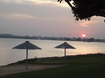 Egypt  - Ismaillia - sunset