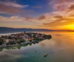 Gölyazı'da Günbatımı