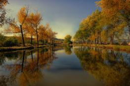Autumn mirror