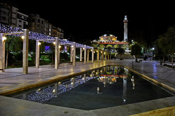 Manisa Hatuniye Camii ve Emekliler Parkı