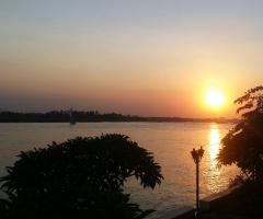 Egypt  -Cairo  - Nile River  - Sunset