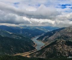 Gökçebel Barajı / Gümüşhane. Doğayı Çok Özledik