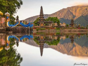 Bali Ulun Danu Bratan tempel