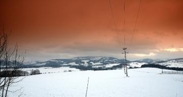 ... winter on the Polish-Czech border