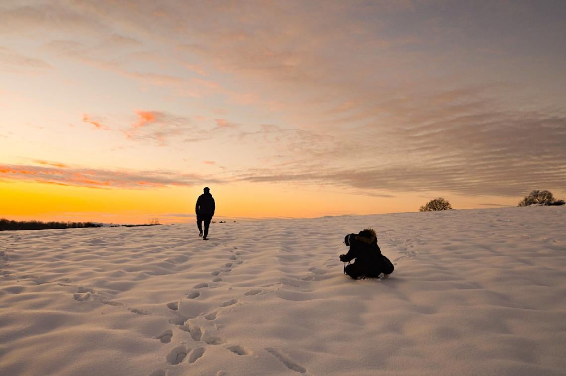 Kış Nerdeyse Gitti Kareleri Kaldı :)