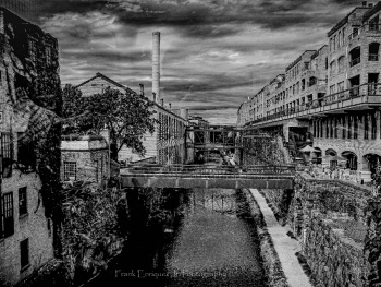 C&O Canal In Georgetown Washington D.C.
