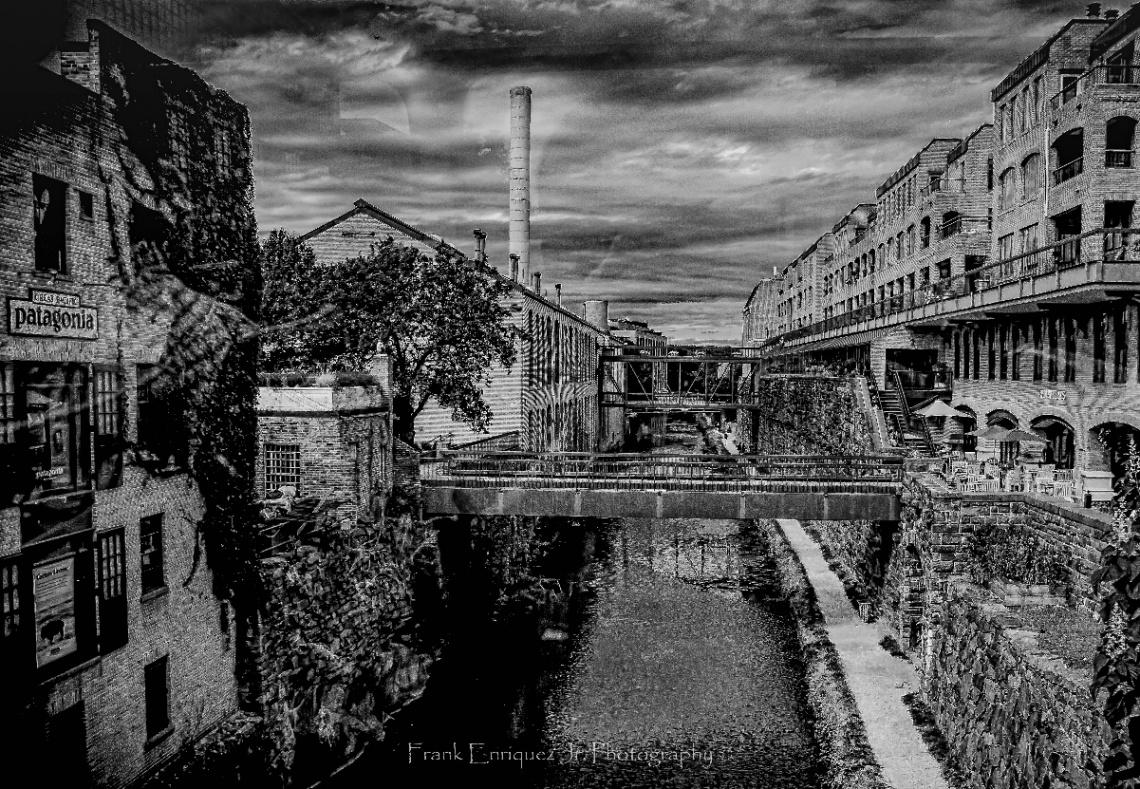 C&O Canal In Georgetown Washington D.C.