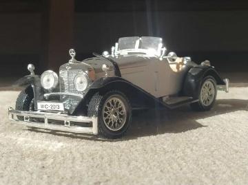 Miniciks hayatlar 1928 Mercedes Roadster SSK