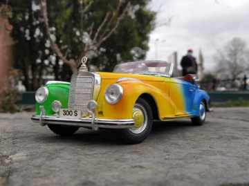Miniciks Hayatlar  1955 Mercedes 300S