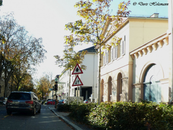 a street in my city Karlsruhe / Germany