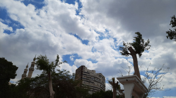 Egypt - Cairo - Clouds