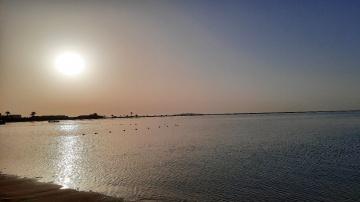Egypt  - Hurghada - sunset