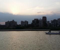 Egypt  - Nile River - Sunset