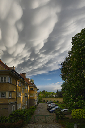 ... clouds in my town