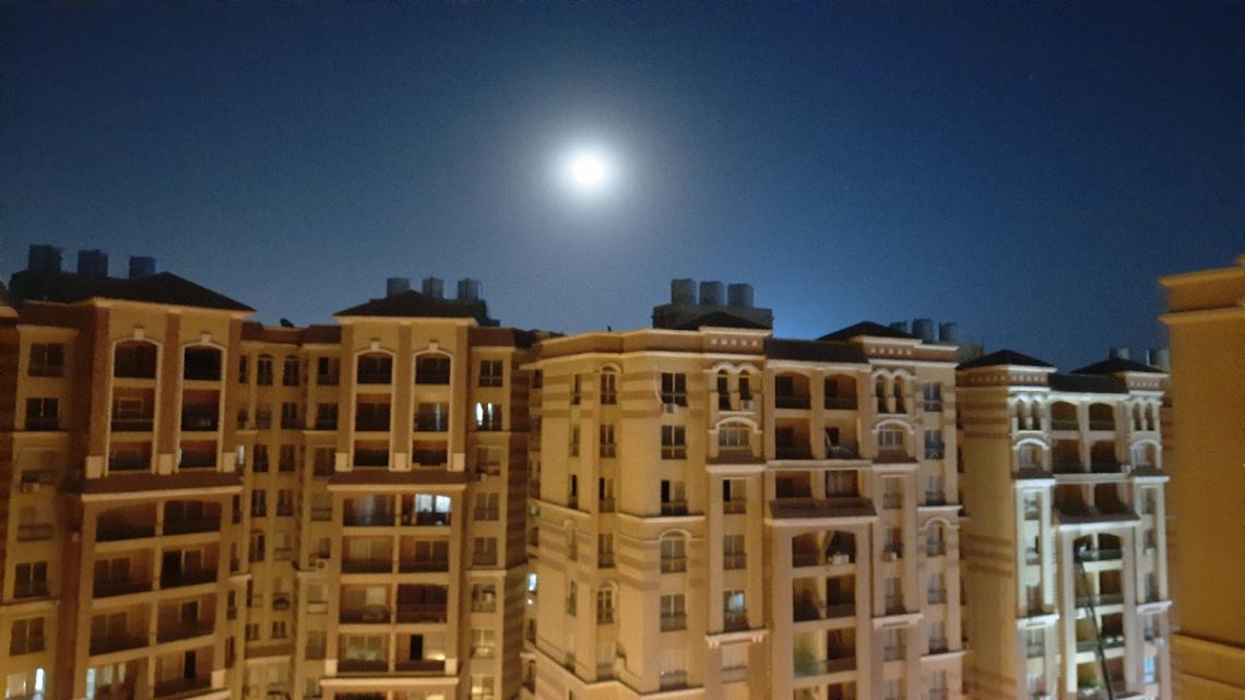 Egypt   - Cairo  - Moon