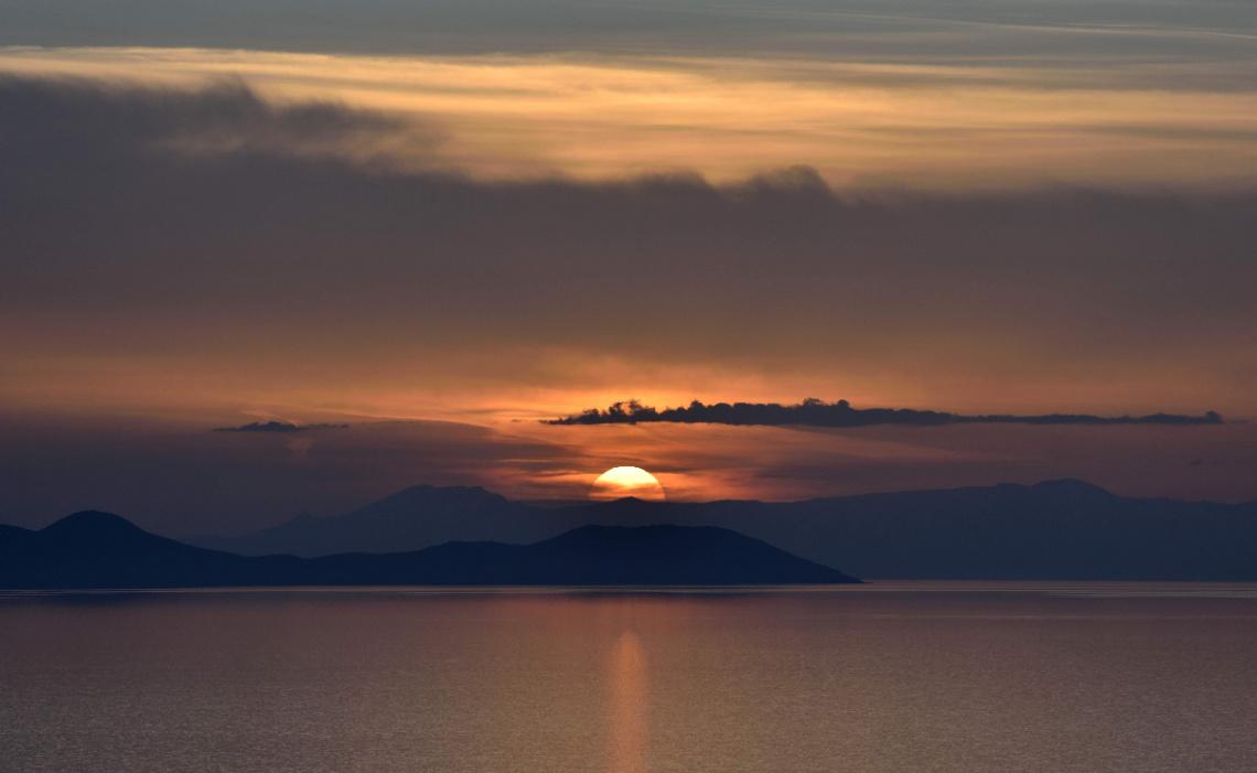 Van Gölü Günbatımı