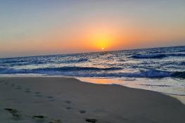 Egypt  - North coast  - Sunset