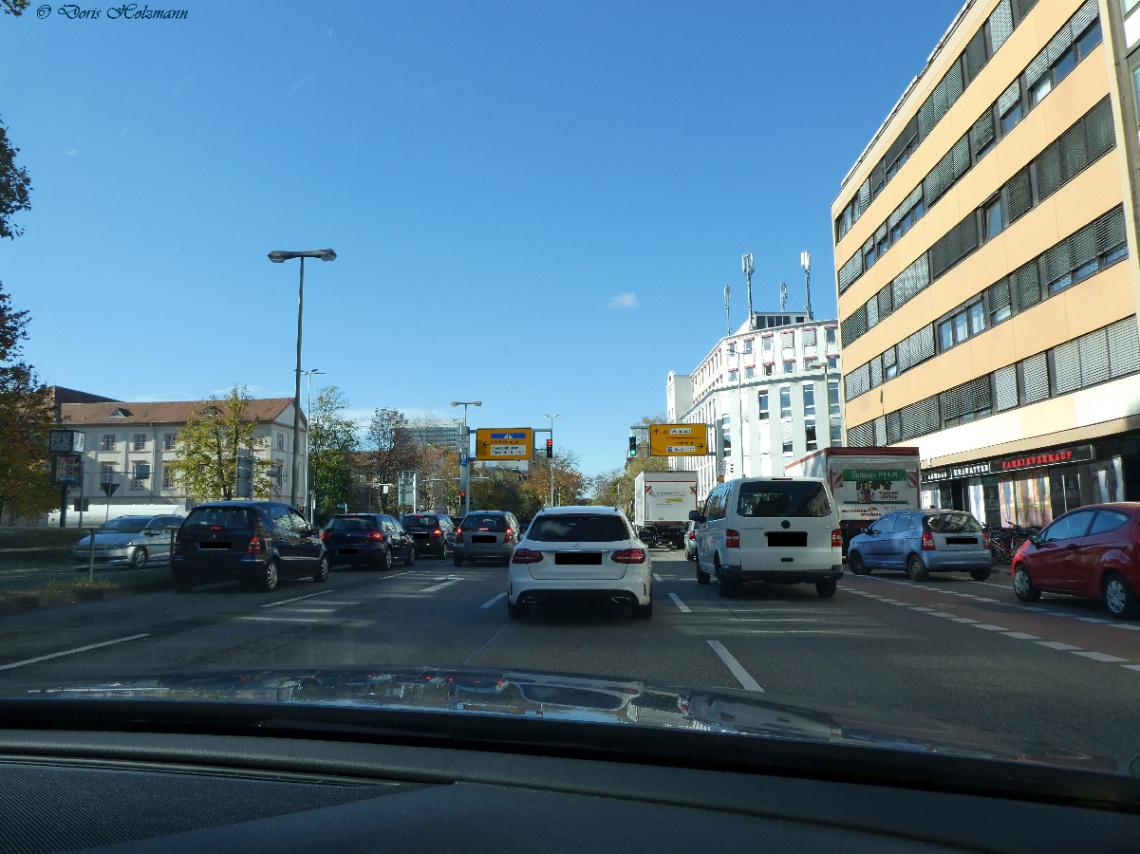 Street in Karlsruhe / Germany
