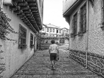 Ankara Hamamönü Sokakları