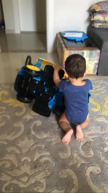 My grandson- young mechanic