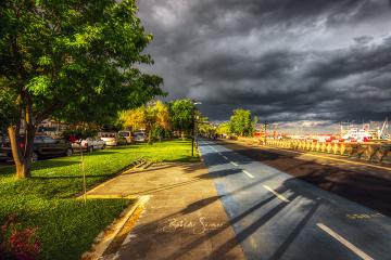 Yağmur sonrası Tekirdağ