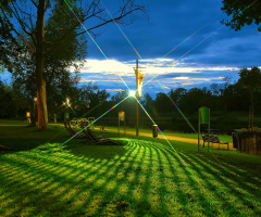 ... lights, Nysa, Polonya