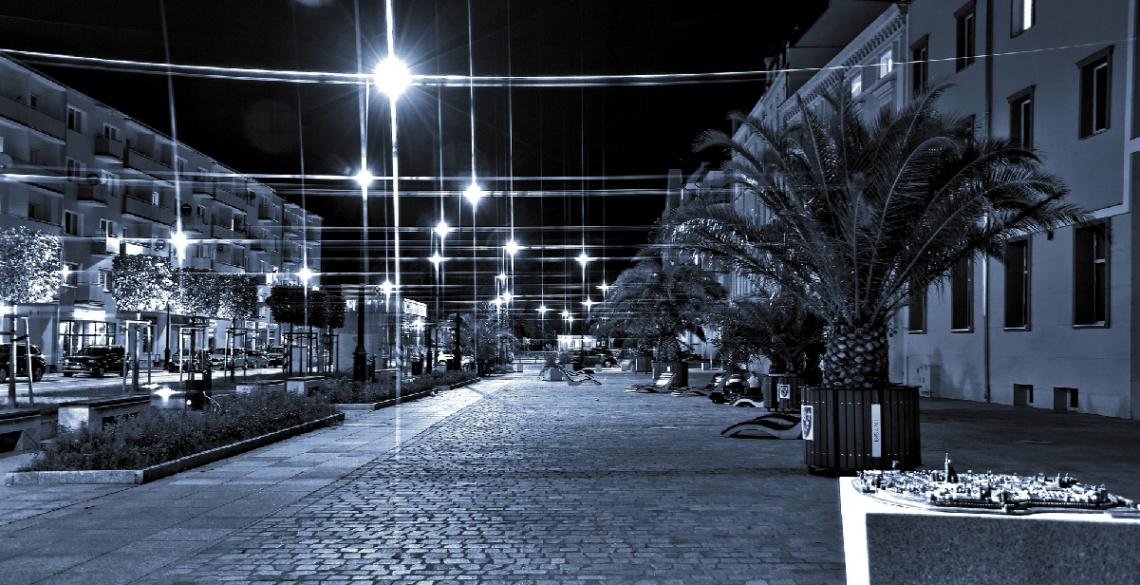 ... city light, Nysa, Polonya