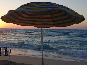 Egypt  - North coast -Sunset