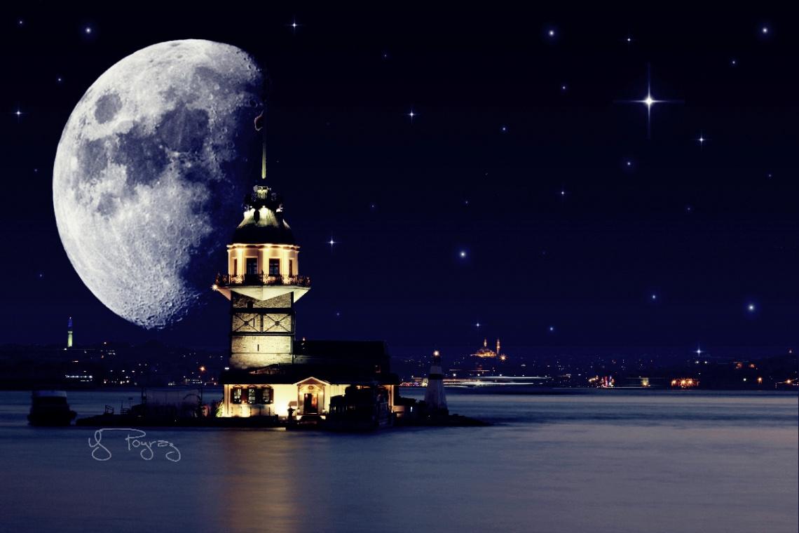 Ay ve Kız Kulesi