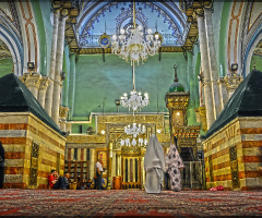 inside Al-Ibrahimi Mosque