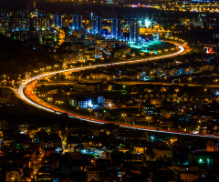 Izmit at night